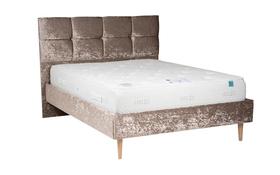 Vogue Jessica Crushed Velvet Bed Side Mattress