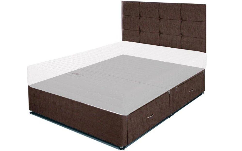 Airsprung universal divan base mattress online for Sprung double divan base only