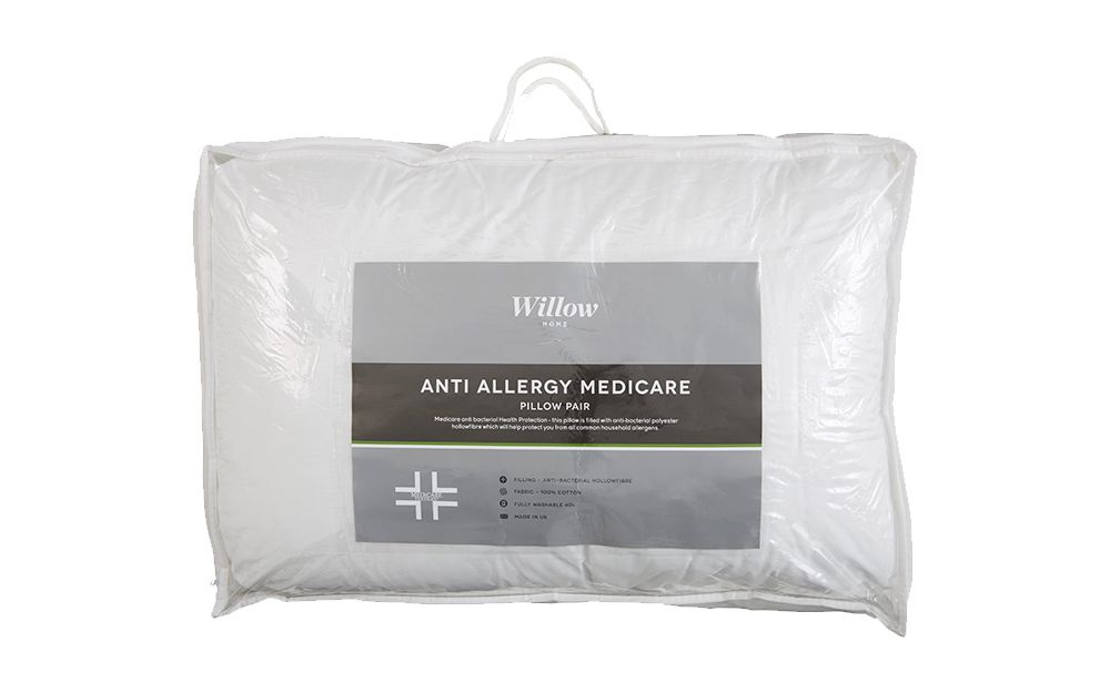 Image of Anti Allergy Medicare Pillow Pair, Standard Pillow Size
