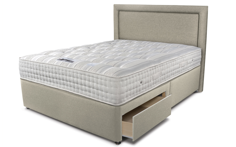 The Sleepeezee Backcare Ultimate 2000 Pocket Divan Bed
