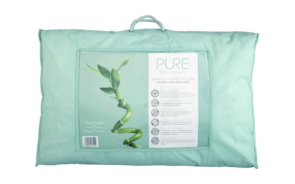 Pure Collection Bamboo Pocket Pillow