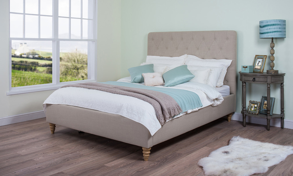 Cadot Rosa Fabric Bed, Double £349.95