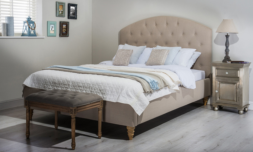 Cadot Sofia Fabric Bed, Double £369.95