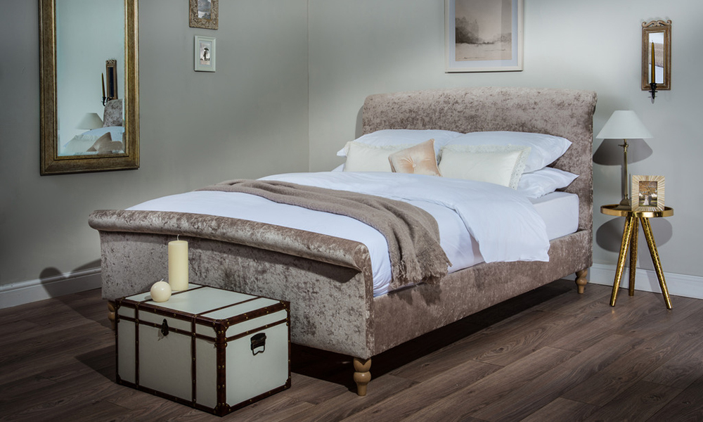 Cadot Zafia Fabric Bed, Double £409.95