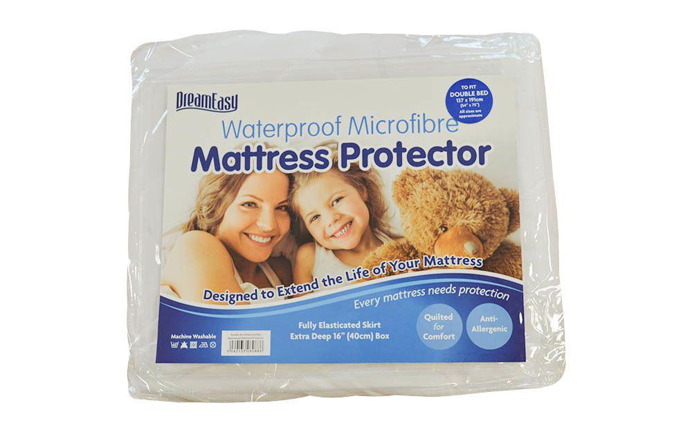 Dreameasy Luxury Waterproof Mattress Protector, Single for £15.95