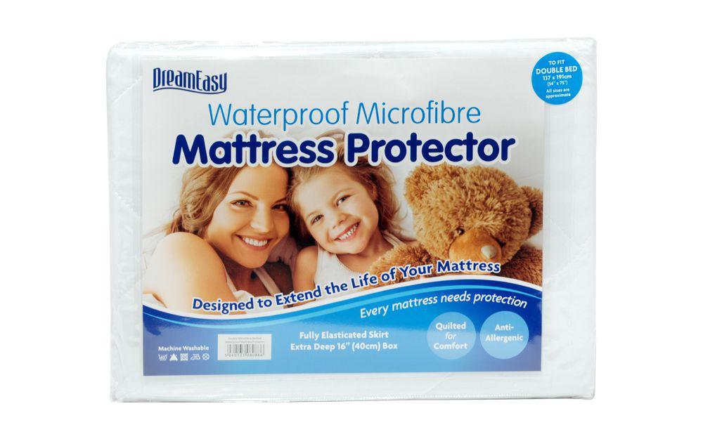 Dreameasy Luxury Waterproof Mattress Protector from £15.95