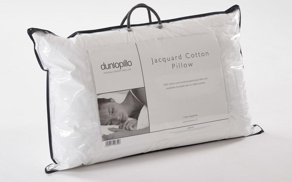 Dunlopillo Jacquard Cotton Pillow Mattress Online