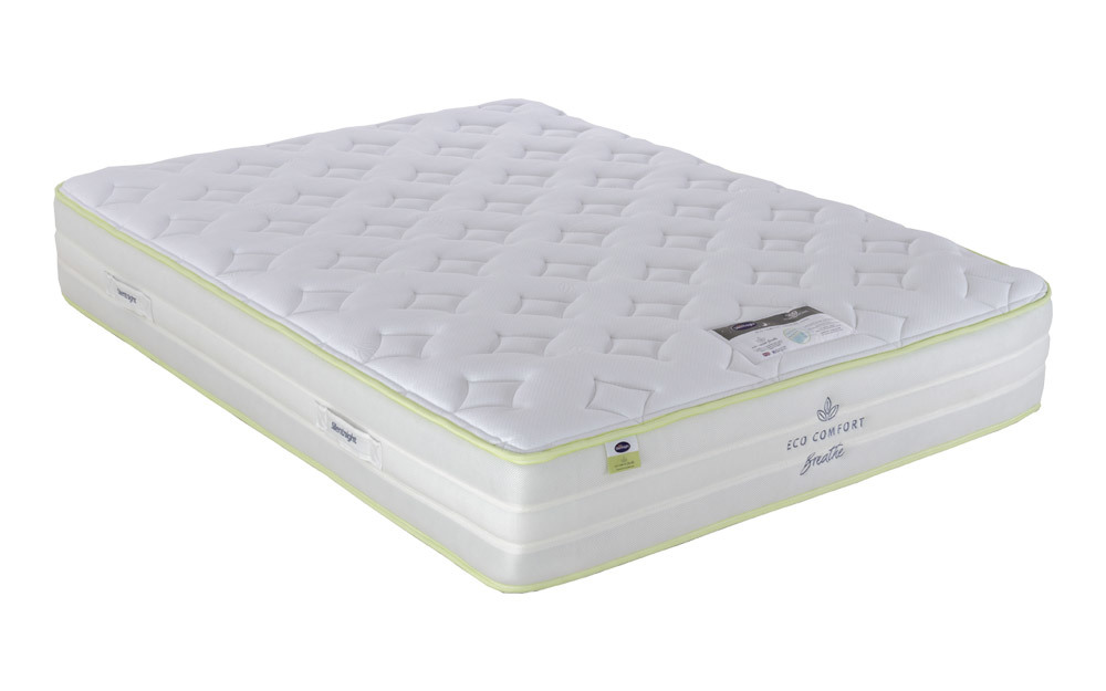 Silentnight Eco Comfort Breathe 2000 Pocket Mattress, Single