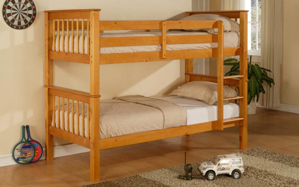 Limelight Pavo Wooden Bunk Bed, Single, Honey Pine £399.95