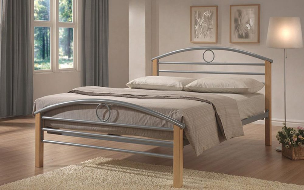 Limelight Pegasus Metal and Wooden Bed Frame, Double £159.95