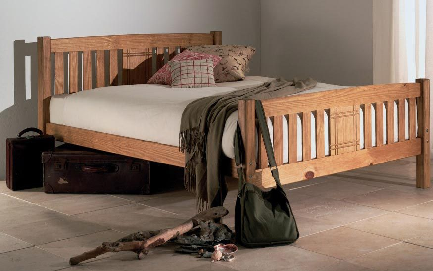 Limelight Sedna Wooden Bed Frame, Small Double