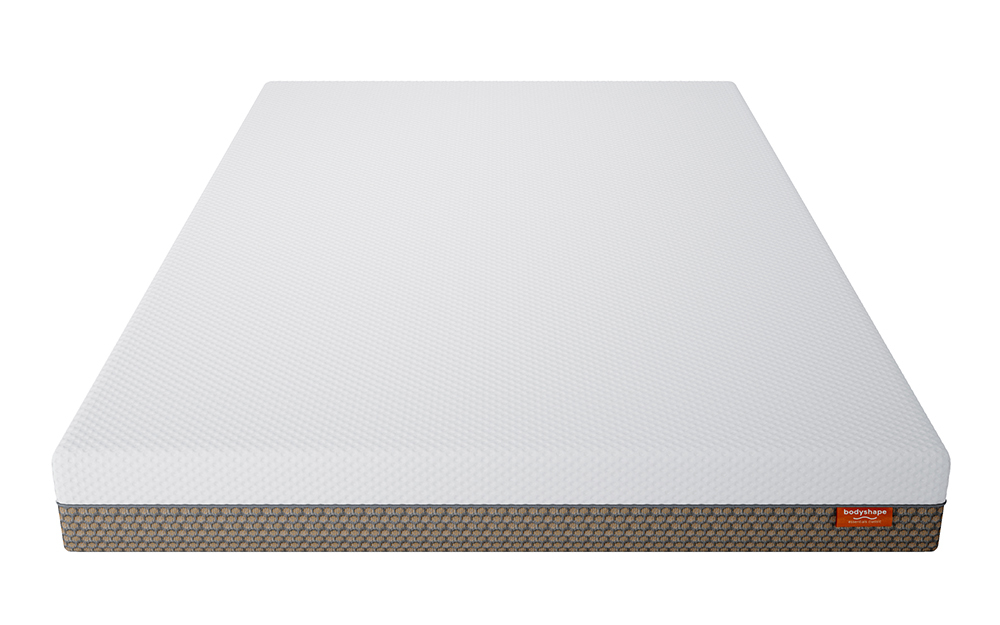 The Bodyshape Classic Memory Foam Mattress features both reflex foam and memory foam