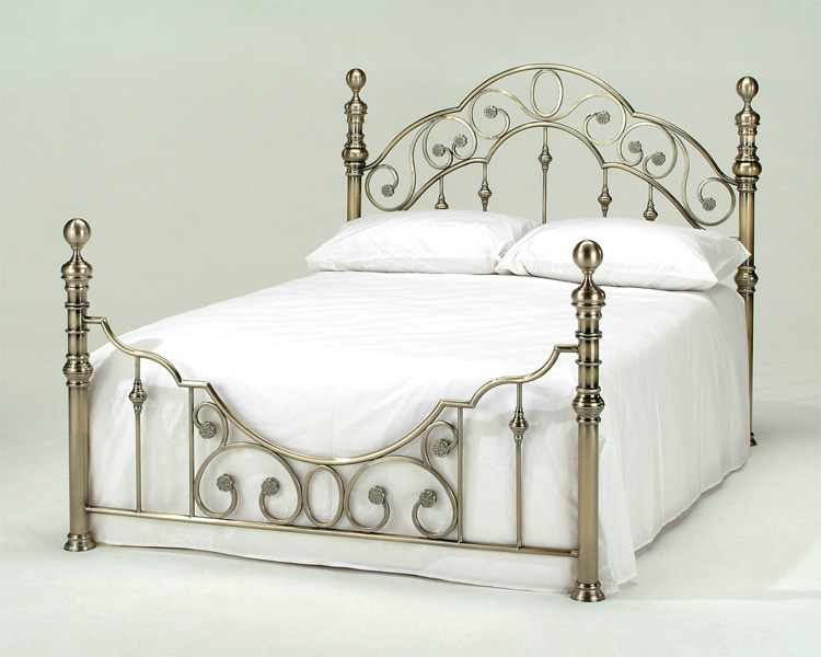Florence Antique Brass Bed Frame