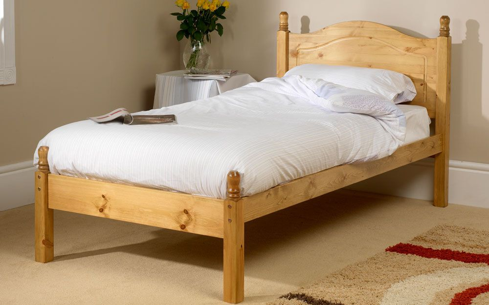 Friendship Mill Orlando Wooden Bed Frame, Double, 2 Drawers, High Foot End £334.9