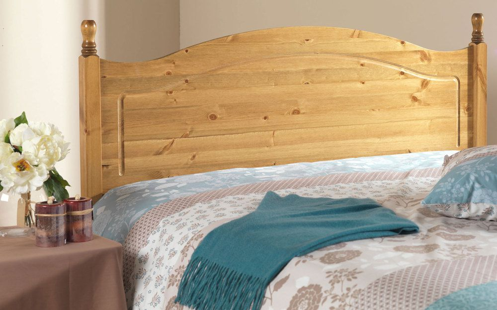 Friendship Mill Orlando Solid Pine Wooden Headboard, Double £94.95