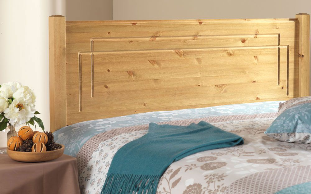 Friendship Mill Vegas Solid Pine Wooden Headboard, Double £99.95