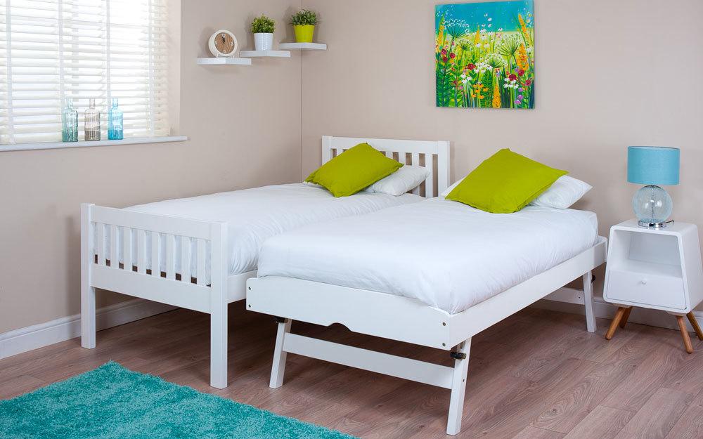 Lena Pine Guest Bed Mattress Online