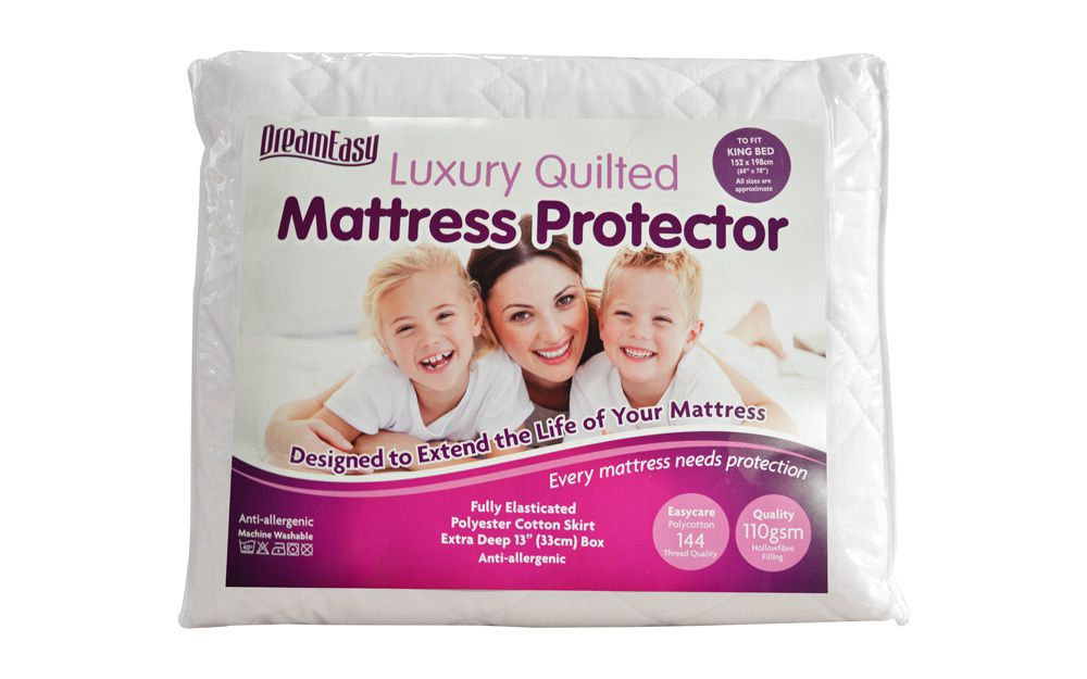 The Harwoods Quilted Anti Allergenic Mattress Protector