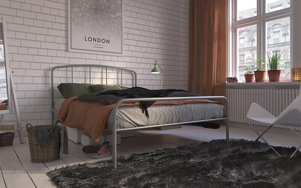 Hove Metal Bed Frame