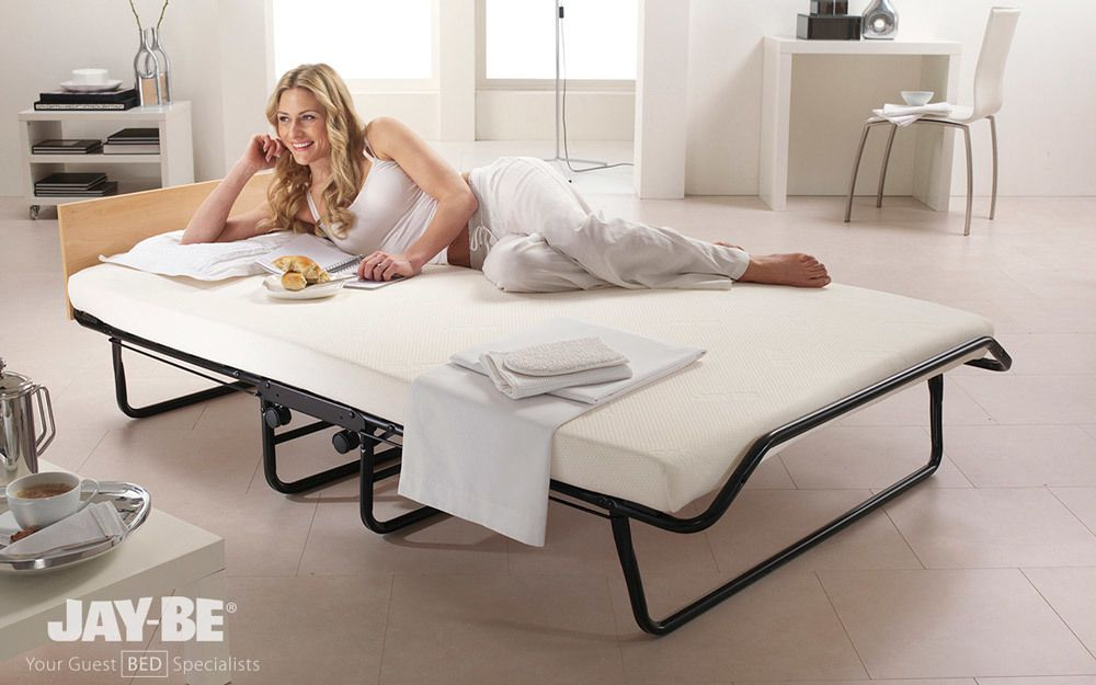 Jay Be Impression Memory Foam Folding Guest Bed Small Single
