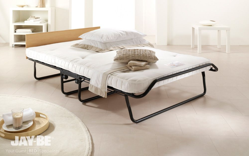 Jay Be Royal 400 Pocket Sprung Folding Guest Bed Small Single