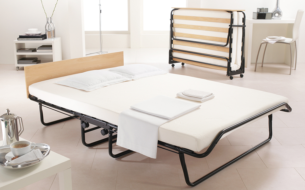 A small double Jay-Be Jubilee Folding Bed with Memory e-Fibre Mattress