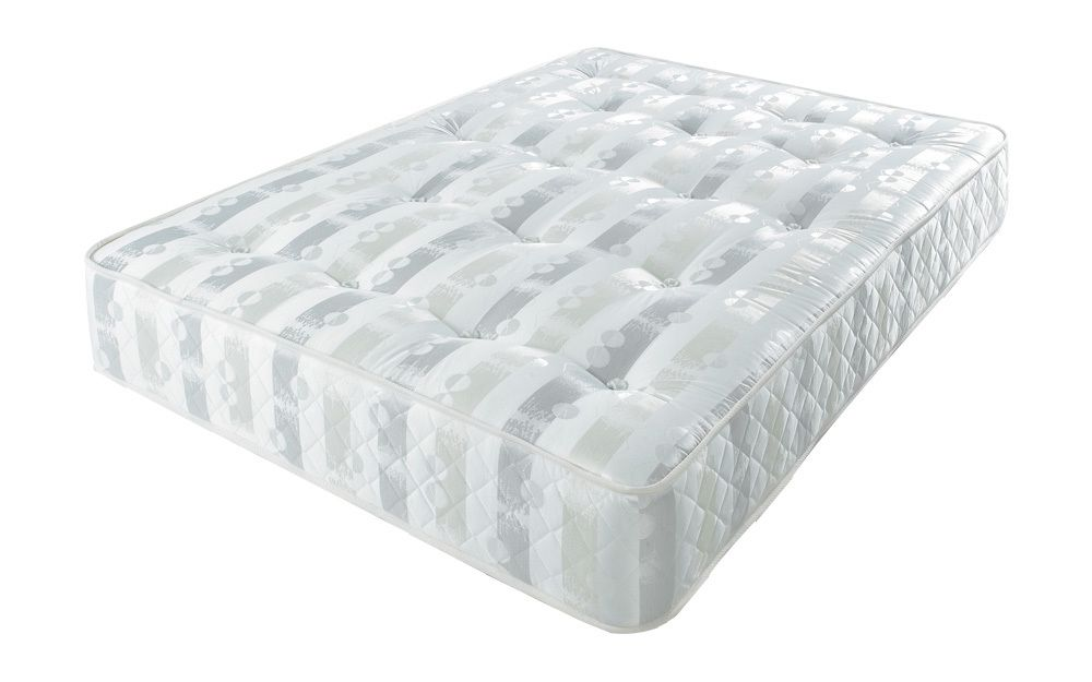 The Romantica Adagio Extra Firm is a very firm and supportive standard sprung mattress