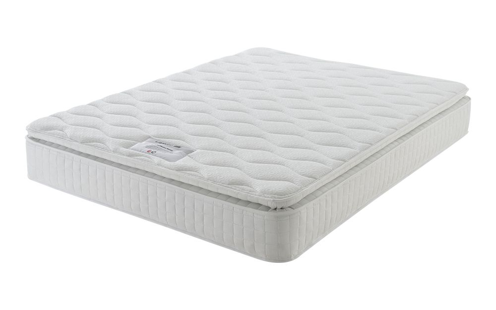 Image of Layezee 800 Pocket Memory Pillow Top Mattress, Single