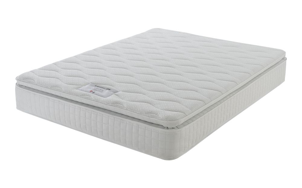 Layezee 800 Pocket Pillow Top Mattress, Small Double