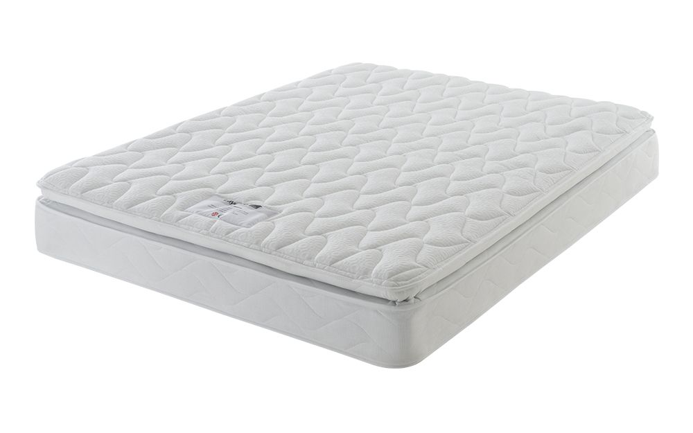 Layezee Comfort Memory Pillow Top Mattress, Single £169.95