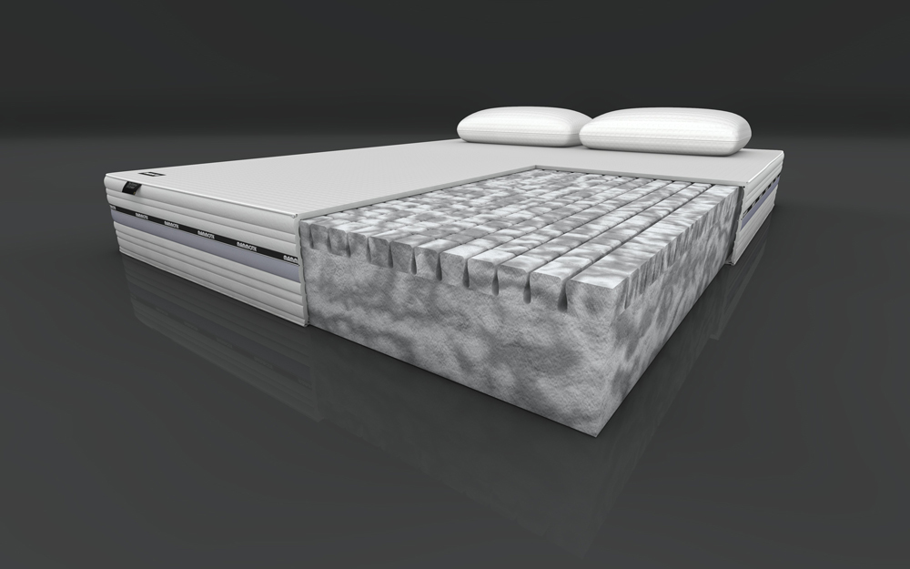 Mammoth performance 220 divan mattress online Three quarter divan bed