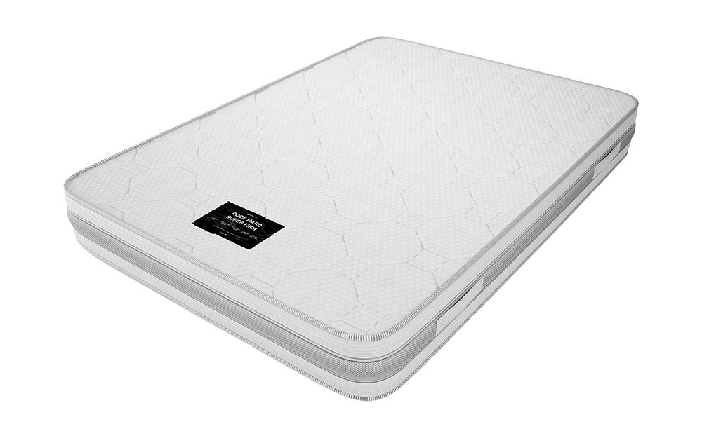 Rock Hard Super Firm Mattress, Double