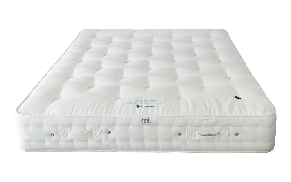 The Millbrook Wool Luxury 1000 Pocket Mattress