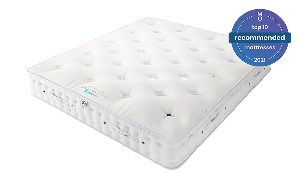 The Millbrook Wool Luxury 4000 Pocket Mattress is a comfortable pocket sprung mattress at a great price