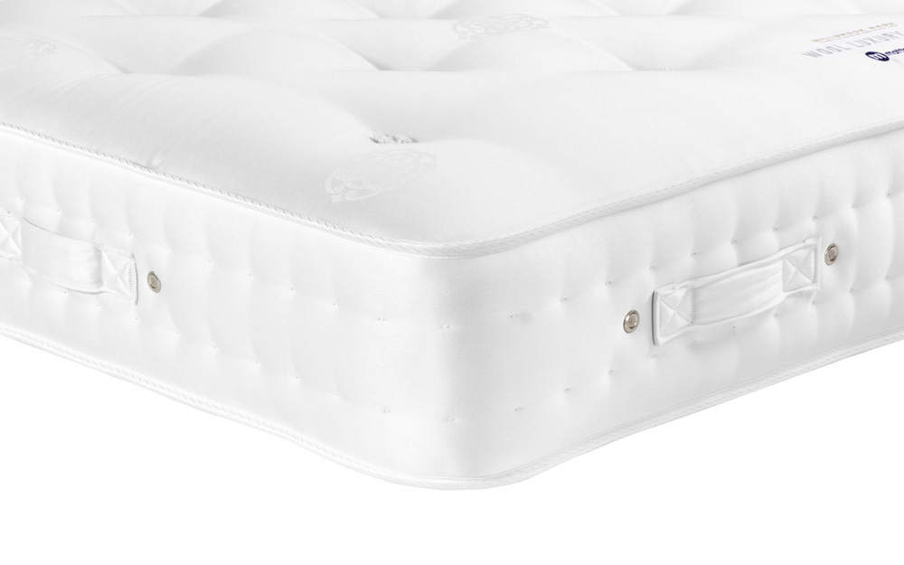 Millbrook Wool Luxury 1000 Pocket Mattress, Small Single