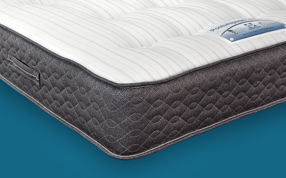 The Sealy Millionaire Orthopaedic Mattress provides excellent orthopaedic support for back pain