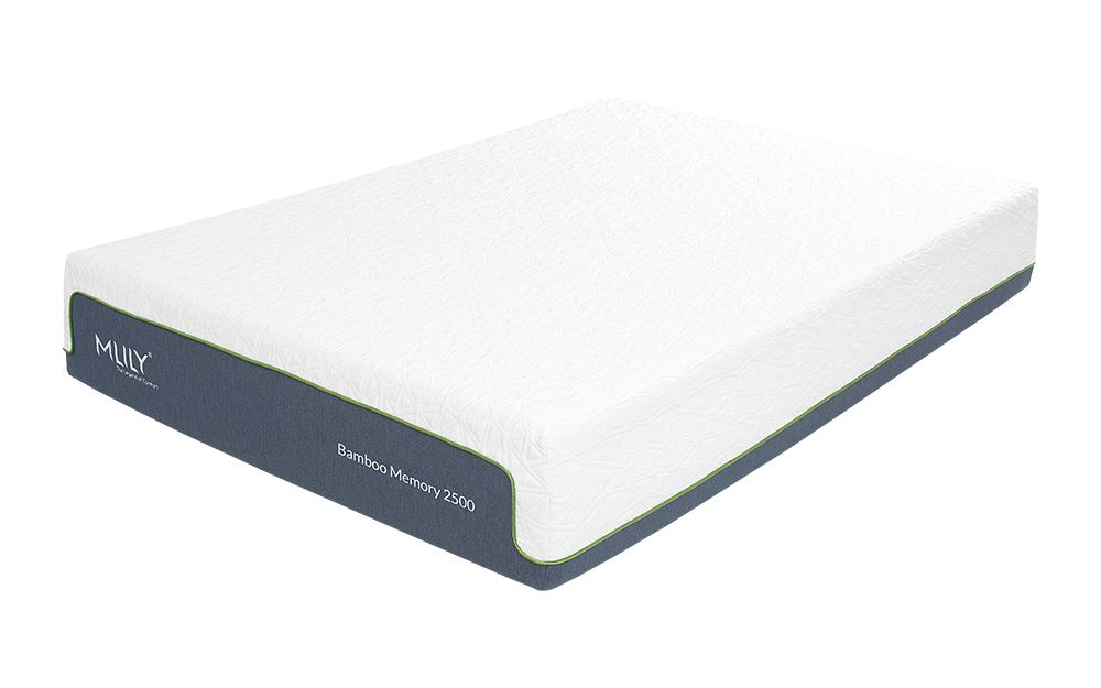 Mlily Bamboo Memory 2500 Pocket Mattress, Single