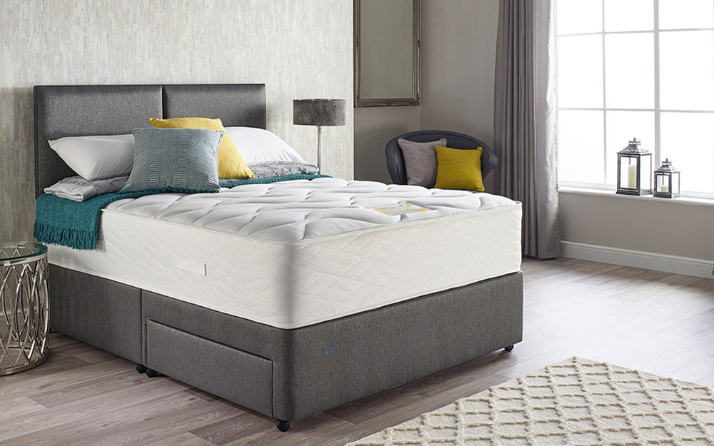 Myers supreme latex comfort 1800 pocket mattress for 1800 beds