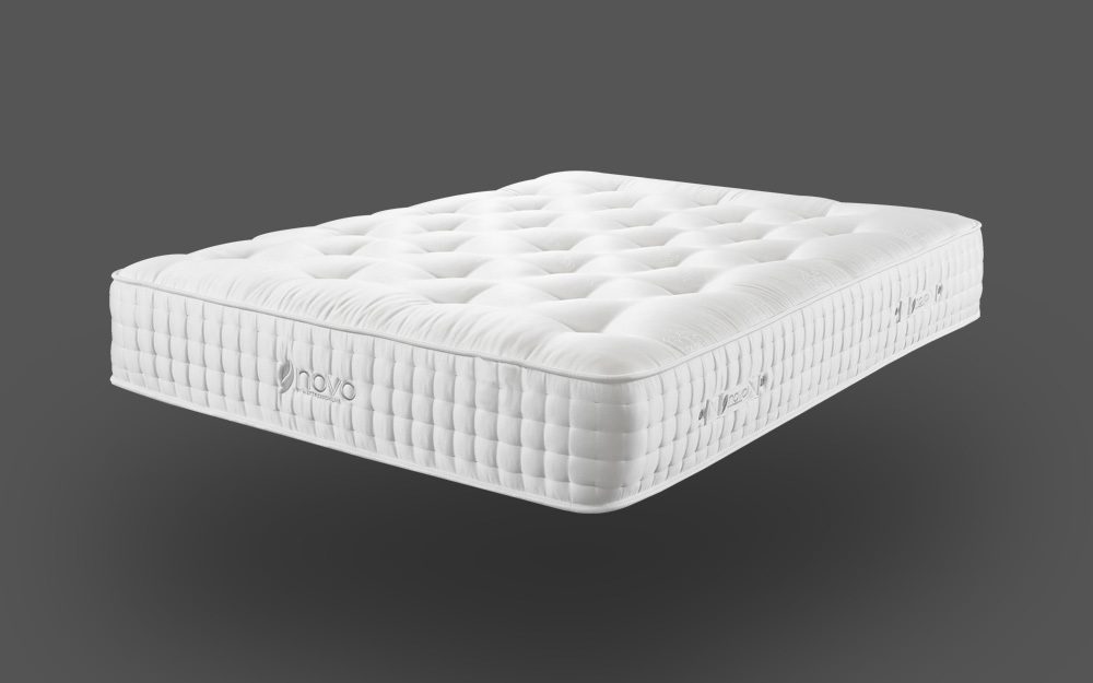 Novo Natural Pocket 2000 Mattress, Single