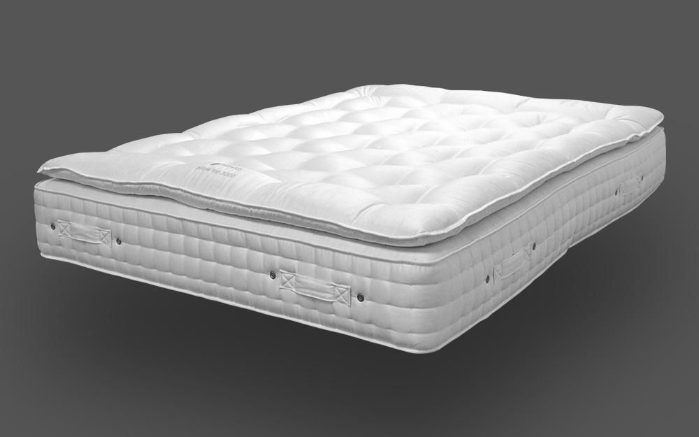 Novo Natural Pocket 3000 Pillow Top Mattress, Single