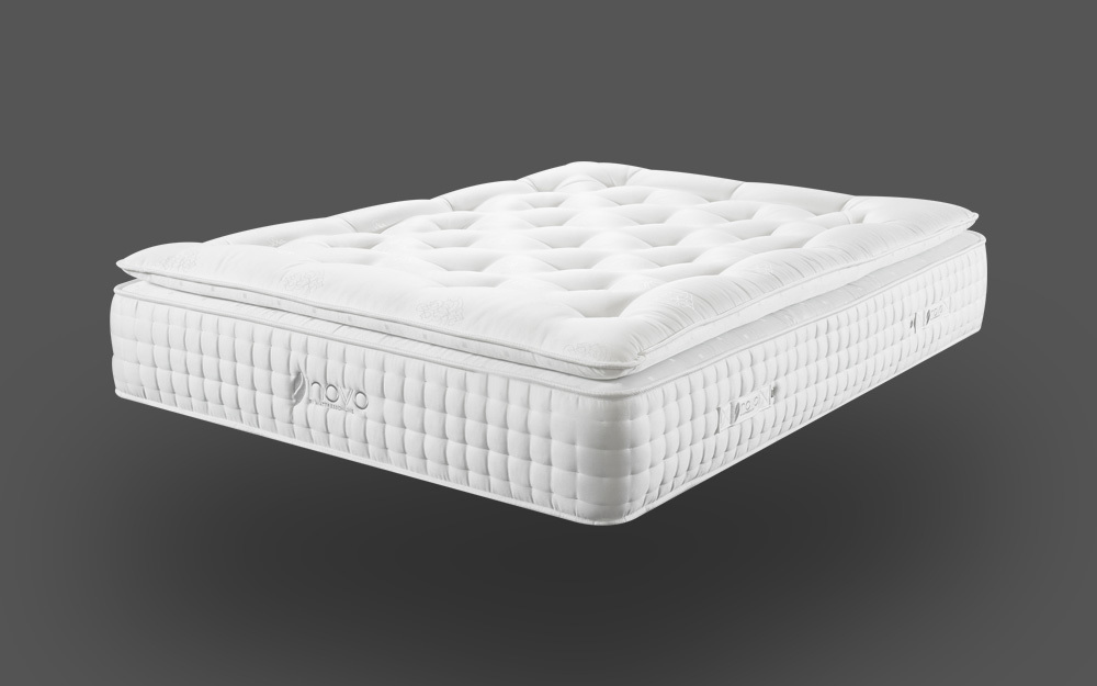 novo natural pocket 3000 pillow top mattress mattress online. Black Bedroom Furniture Sets. Home Design Ideas