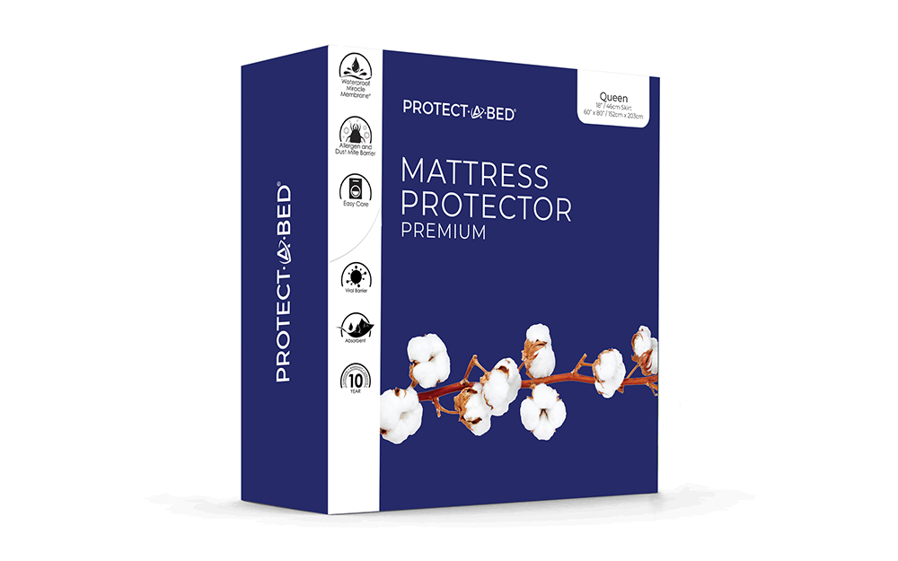 Protect A Bed Premium Waterproof Mattress Protector Superking