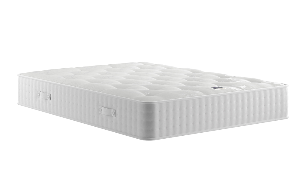 Relyon Natural Luxury 1400 Pocket Mattress, Single