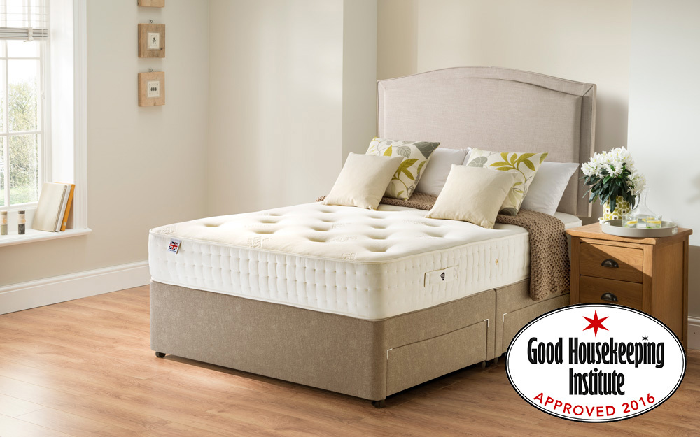 Rest Assured Belsay 800 Pocket Ortho Divan Bed Mattress Online