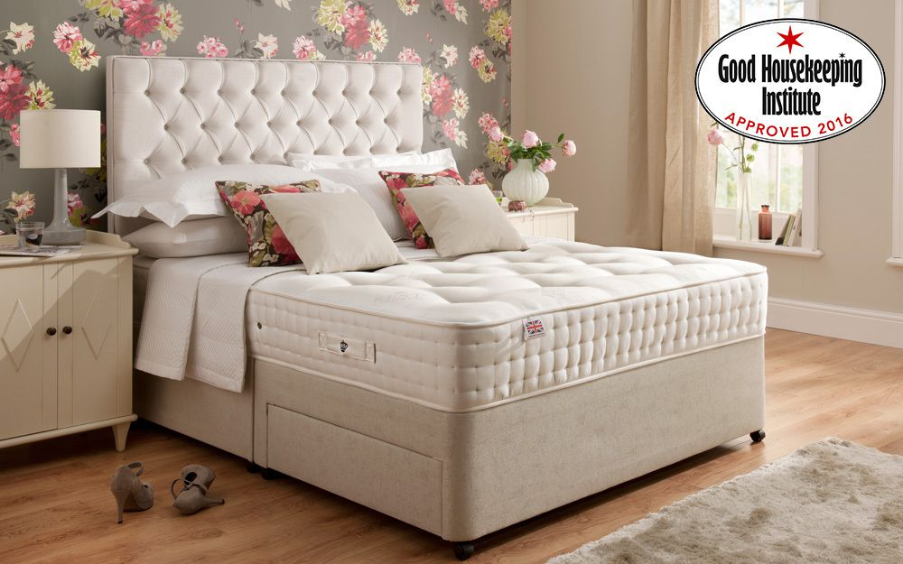 Zip Link Beds >> Rest Assured Boxgrove 1400 Pocket Natural Mattress - Mattress Online