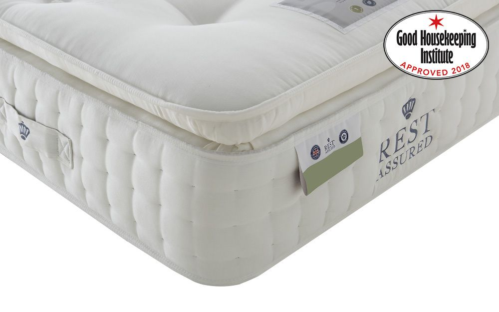 The Rest Assured Knowlton 2000 Pocket Latex Pillow Top Mattress