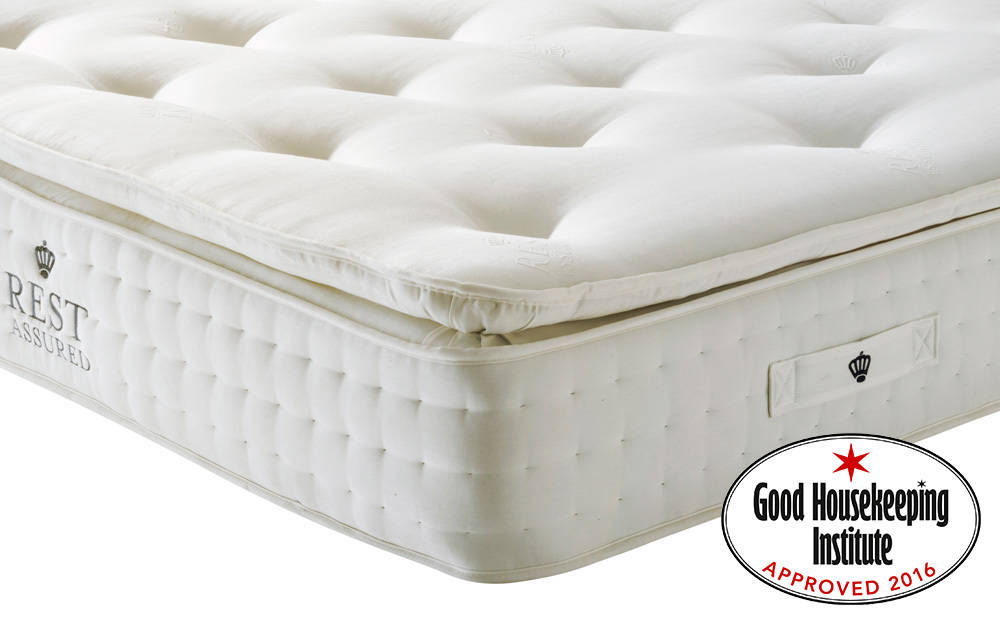 The Rest Assured Knowlton 2000 Pocket Latex Mattress