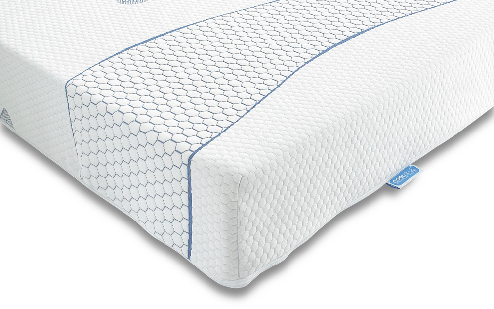 Sareer Cool Blue Memory Foam Mattress, Superking