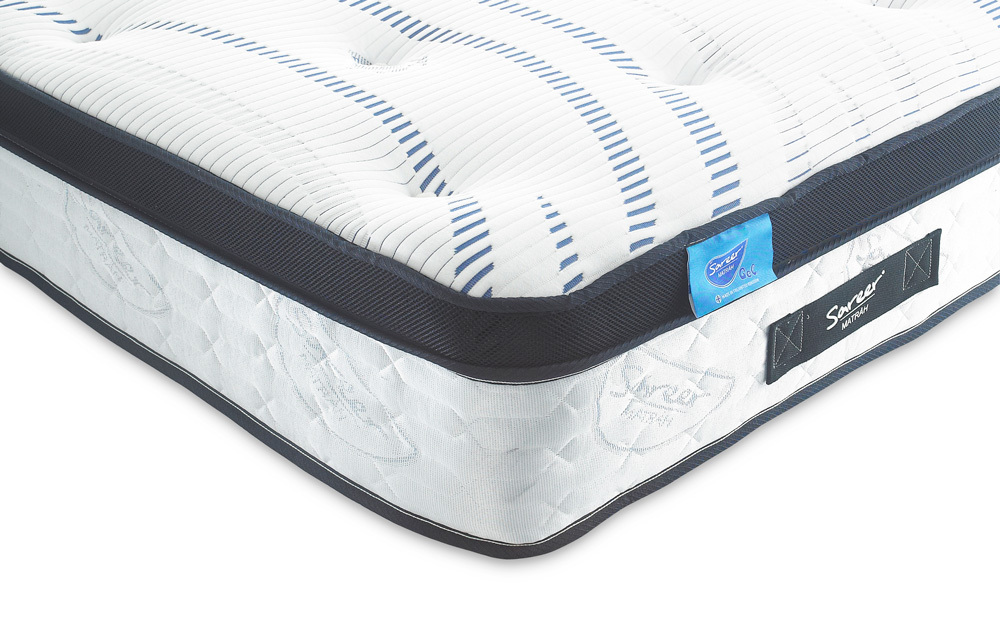 Sareer Gel 1000 Pocket Mattress, Small Double