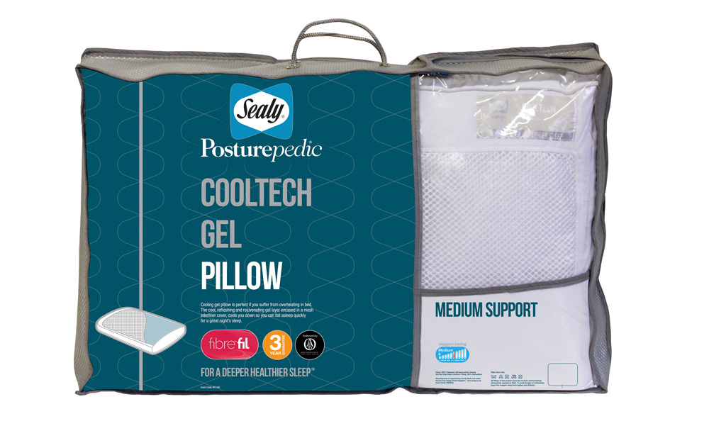 foam memory sleeping gel pillow ergo